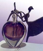 perfume party heart decanter